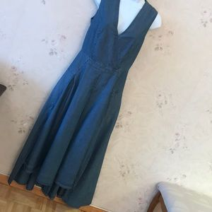 Robert Rodrigues washed jeans color dress size 2